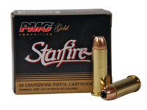 PMC Star Fire .38 Special +P 125 Gr, Hollow Point, 20rd/Box