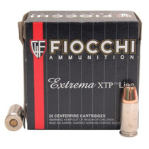 Fiocchi Extrema 9mm 147gr, XTP Hollow Point 25rd/Box
