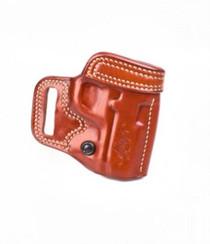 Kimber 1911 3-inch Avenger holster tan leather tension screw Kimber logo