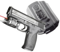 """Viridian X5LR M&P 9/40 With Holster, 5mW, .50""""@50ft, Red Laser"""