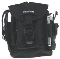 Drago Gear Patrol Pack Belt Bag Reinforced Webbing Black