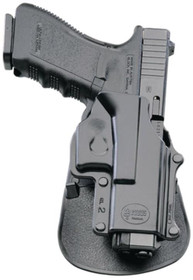 Fobus Paddle Holster, Fits Taurus 85/605/905, Rossi R351/R352, Interarmsw Model 68, Right Hand, Kydex, Black