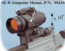 """Knights Armament 30mm Low Profile Mount (1.1"""")"""