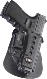 Fobus Evolution 2 Paddle Glock 17/19/22/23/26/27/33/34/35, Black, Right Hand