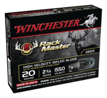 "Winchester RackMaster 20 Ga, 2.75"", 1550 PFS, .875 oz, Slug, 5rd"