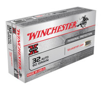 Winchester Ammo Super X 32 ACP Silvertip HP 60gr, 50rd/Box