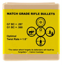 Berger Bullets AR Hybrid OTM Tactical, 6.5MM, 100 Count, 130 Grain