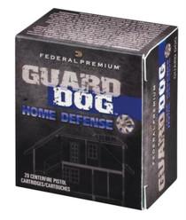 Federal Premium Guard Dog .40 S&W 135gr, FMJ Guard Dog 20rd Box