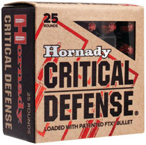 Hornady Critical Defense .45 Colt 185 Gr, Flex Tip Expanding, 20rd/Box