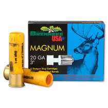 "Brenneke Gold Magnum Slugs, 20 Ga, 3"", 1oz, 5rd/box"