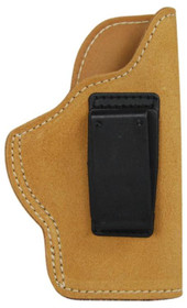 Blackhawk Suede Leather Angle Adjustable ISP Holster for Glock 19/Springfield XD Compact and other Compact 9mm/.40 Caliber Right Hand Brown