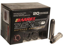 Barnes TAC-XPD .357 Mag 125gr, Lead Free Solid Copper Hollow Point 20rd/Box