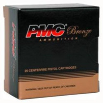 PMC Bronze Ammunition, 10MM, 170gr, Jacketed Hollow Point, 25rd Box