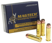 Magtech SPORT SHOOTING 44 Rem Mag Solid Copper Hollow Point 200gr, 20Bx/50Cs