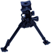 "Versa-Pod Bipod, 9"" To 12"" Height Adjustment, Ski Feet, Model 72"