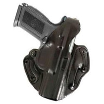 DeSantis Thumb Break Scabbard, Glock 19, 23, 32, RH, Black Leather