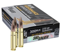 Sig Ammo 300 Blackout120Gr, Elite Hunting, Solid Copper, 20rd Box