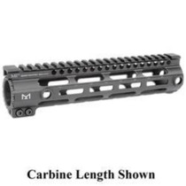 "Midwest Industries SSM M-Lok Series One Piece Free Float Handguard 10.5"" Black"