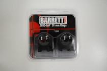 Barrett Zero-Gap Scope Rings Low 1 Inch 30mm Matte