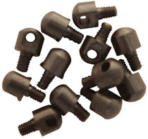 Grovtec GTHM59 1/4 in Machine Screws Bulk Parts Packs Black