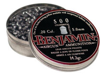 Benjamin 20 Cal. 14.3 Grain Cylindrical Pellets, 0 Pack