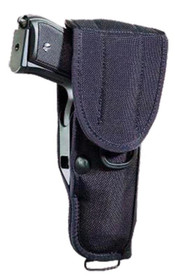 "Bianchi UM84R UnivMilitary Holster Fits up to 2.25"" Belts Black Water Resis"