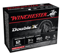 "Winchester Supreme Double X Turkey 12ga 3.5"" 2-1/4oz 5 Shot 10Box"