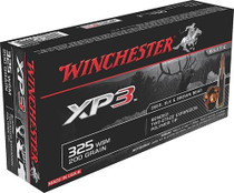 Winchester 325 Win Short Mag Supreme Elite XP3 200gr, 20rd/Box