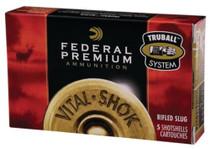 """Federal Vital-Shok 20 Ga, 2.75"""", 1600 FPS, .75oz, TruBall Slug"""