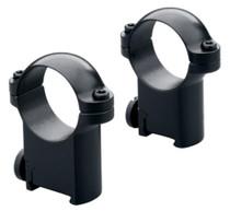 """Leupold Rings Sako Medium 1"""" Diameter Gloss Black"""