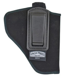 Uncle Mike's In The Pants Holster 10, Small Autos .22-.25 Cal., Black