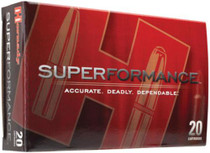 Hornady Superformance Rifle Ammo, 7mm-08 Remington, 139 Gr, SST, 20rd/Box
