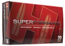 Hornady Superformance 6.5x55 Swedish 140 Grain SST, 20rd/Box