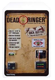 Dead Ringer Duck Buster Shotgun Lexan Orange/Green, Alum Black