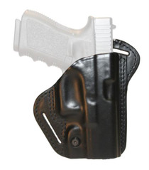 """Blackhawk CQC Leather Check-Six Holster Black Right Hand For Smith and Wesson M&P 9mm/.40 Four"""" Barrel"""