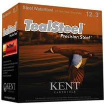 "Kent Teal Steel 12 Ga, 3"", 1.25 oz, 6 Shot, 25rd/Box"
