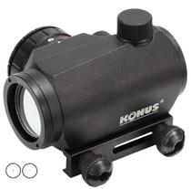 Konus Sight Pro 1x 20mm Obj 4MOA Black R/G Illum Reticle