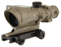 Trijicon ACOG 4x32 Scope with Green Horseshoe/Dot Reticle and M4 BDC with TA51 Mount Cerakote Flat Dark Earth Finish