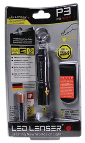 Leatherman LED Lenser P3-AP Keychain Flashlight 1 AAA Black
