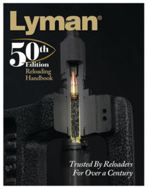 Lyman 50th Edition Reloading Handbook Softcover Edition
