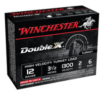 "Winchester Supreme Double X Turkey 12 Ga, 3.5"", 2oz, 6 Shot, 10rd/Box"