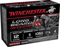 "Winchester Long Beard XR 12 Ga, #4 Lead, 3"", 1-7/8 oz, 1050 FPS, 10rd/Box"
