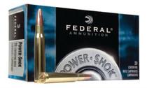 Federal Power-Shok 222 Remington Soft Point 50gr, 20Box/10Case