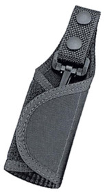 """Uncle Mike's Key Ring Holder Fit Belts to 2.25"""" Black Nylon"""