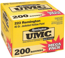Remington UMC .223 Rem 45gr Jacketed Hollow Point 200rd/Box