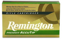 Remington Ammunition Premier 204 Ruger AccuTip 32gr, 20Box/10Case