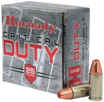 Hornady Critical Duty 9mm +P 135gr, FlexLock 25rd/Box