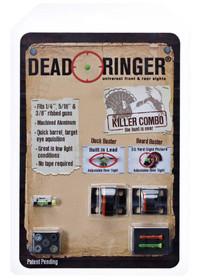 Dead Ringer Killer Combo Beard/Duck Buster Lexan Orange/Green Set Black