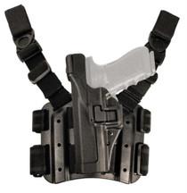 Blackhawk Level 3 Serpa Light Bearing Tactical Holster Left Hand Black For Beretta 92/96