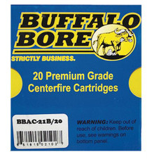 Buffalo Bore 10mm 180gr, JHP, 20rd/Box